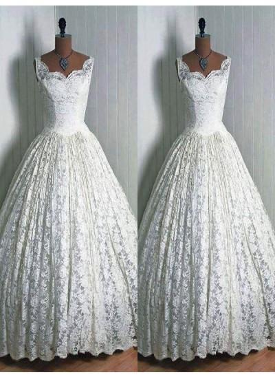 Robe Marquise Amoureux Longueur ras du sol Sans manches Robe de mariée